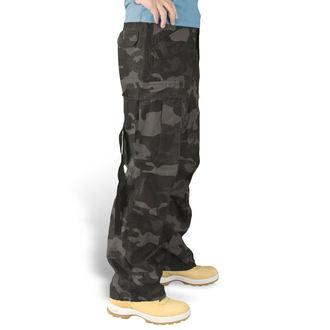 pants SURPLUS - Vintage - BLACK CAMO - 05-3596-42