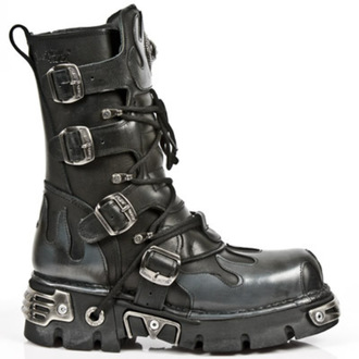 leather boots women's - NEW ROCK - M.591-S2