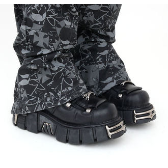 boots leather - String Shoes (106-S1) Black - NEW ROCK, NEW ROCK