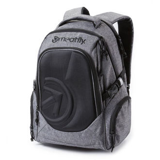 backpack MEATFLY - Blackbird - B - Heather Gray, MEATFLY