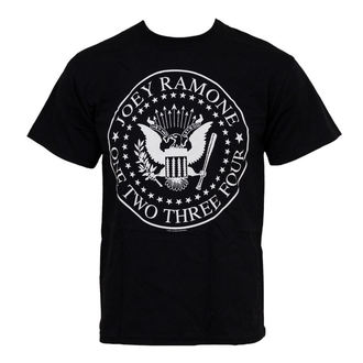 t-shirt metal men's Ramones - 1234 Seal - ROCK OFF - JRTEE02MB