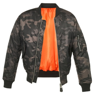 winter jacket - MA1 camo - BRANDIT - 3159-darkcamo