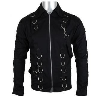 shirt men Aderlass - cusp Card Denim Black, ADERLASS