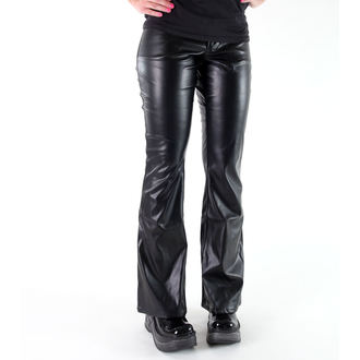 pants women Mode Wichtig - Bell Bottom Sky Black, MODE WICHTIG