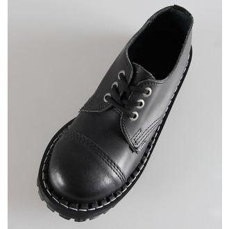 leather boots women's - STEEL - 101/102 Black