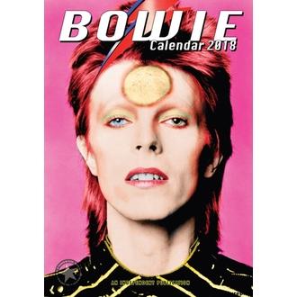 Calendar to year 2018 DAVID BOWIE, David Bowie