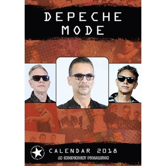 Calendar to year 2018 DEPECHE MODE, Depeche Mode