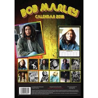 Calendar to year 2018 BOB MARLEY, Bob Marley