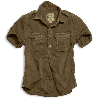 shirt SURPLUS - 1/2 Vintage Shirt - BROWN, SURPLUS