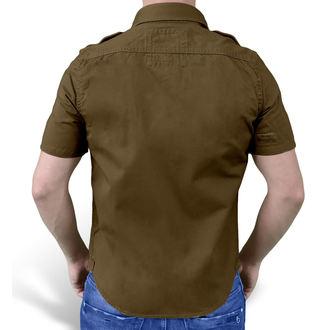 shirt SURPLUS - 1/2 Vintage Shirt - BROWN - 06-3590-05