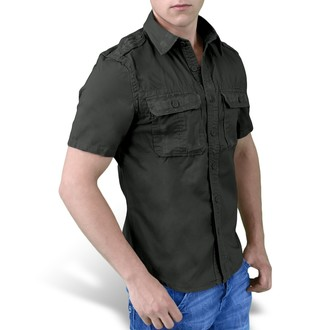 shirt SURPLUS - 1/2 Vintage Shirt - Black - 06-3590-63