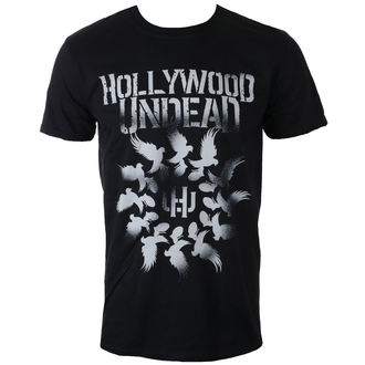 t-shirt metal men's Hollywood Undead - DOVE GRENADE SPIRAL - PLASTIC HEAD - PH10695