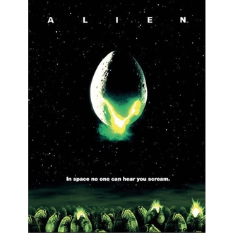 Painting Alien - One-sheet - PYRAMID POSTERS, PYRAMID POSTERS, Alien - Vetřelec