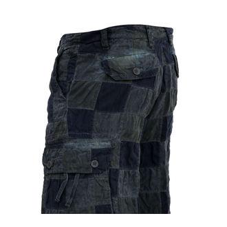 shorts men SURPLUS - Checkboard - BLUE - 05-5650-10
