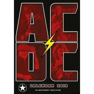 Calendar for year 2019 - AC / DC, NNM, AC-DC
