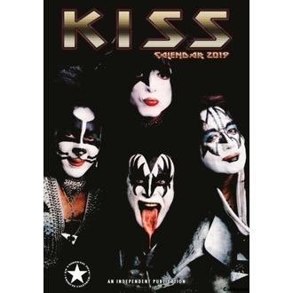 Calendar for year 2019 - KISS, NNM, Kiss