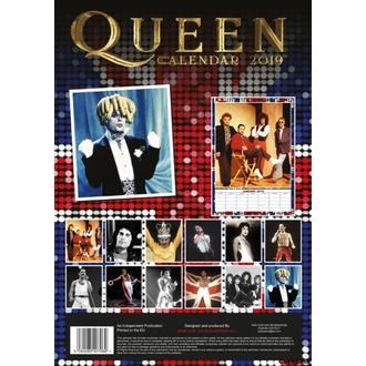 Calendar for year 2019 - QUEEN, NNM, Queen