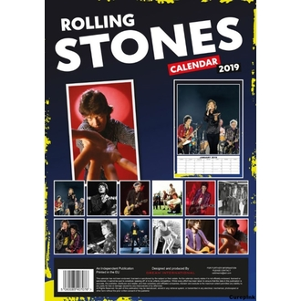 Calendar for year 2019 - Rolling Stones, NNM, Rolling Stones