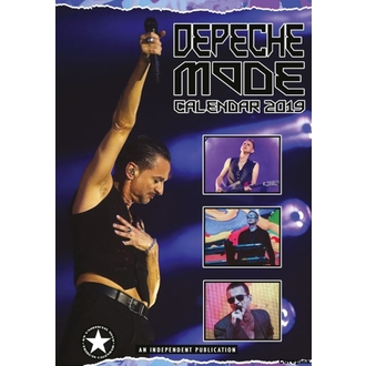 Calendar for year 2019 - Depeche Mode, NNM, Depeche Mode