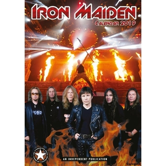 Calendar for year 2019 - Iron Maiden, NNM, Iron Maiden