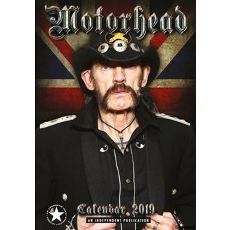 Calendar for year 2019 - Motorhead, NNM, Motörhead