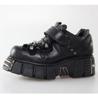 boots leather - Bolt Shoes (131-S1) Black - NEW ROCK, NEW ROCK