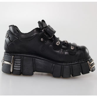 boots leather - Bolt Shoes (131-S1) Black - NEW ROCK - M.131-S1