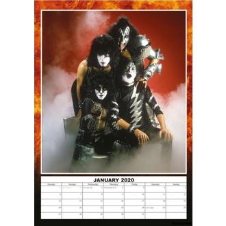 Calendar for the year 2020 - KISS - 2020_DRM-013