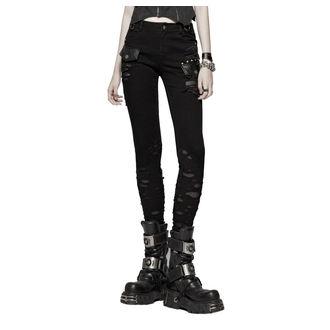 Women's trousers PUNK RAVE - Destruction, PUNK RAVE