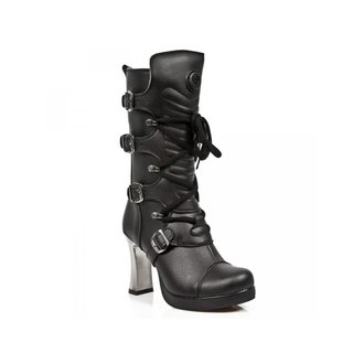 high heels women's - VEGAN NEGRO ** VEGAN **, PLATAFORMA - NEW ROCK, NEW ROCK