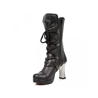 high heels women's - VEGAN NEGRO ** VEGAN **, PLATAFORMA - NEW ROCK