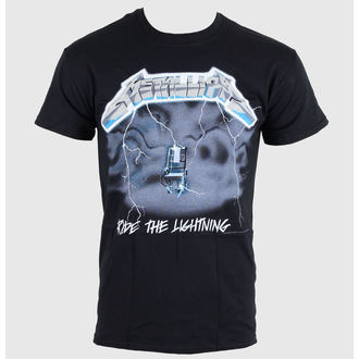 t-shirt metal men's Metallica - Ride the Lightning - LIVE NATION - RTMTL009