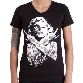 t-shirt street women's - BH SKULL BITCH - BLACK HEART, BLACK HEART