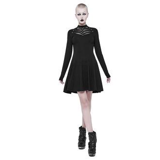 Women's dress PUNK RAVE - Shiva - black Gothic, PUNK RAVE
