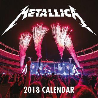 2018 Wall Calendar METALLICA, Metallica