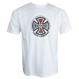 t-shirt street men's - Men's T-Shirt S/S Tees - INDEPENDENT - INATEE-952 WHITE