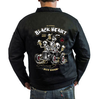 spring/fall jacket - BEER BARON - BLACK HEART