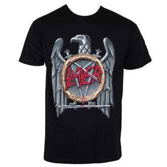 t-shirt metal men's Slayer - Eagle - ROCK OFF