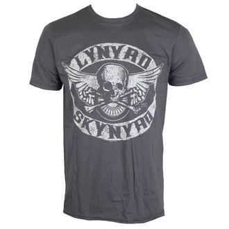 t-shirt metal men's Lynyrd Skynyrd - Biker Patch - LIVE NATION, LIVE NATION, Lynyrd Skynyrd