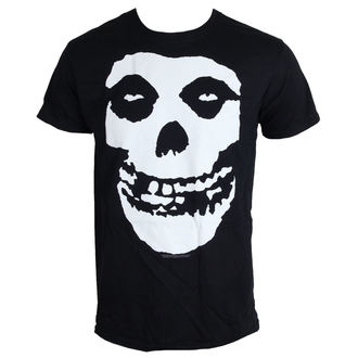 t-shirt metal men's Misfits - Skull - LIVE NATION - PE10374TSBP