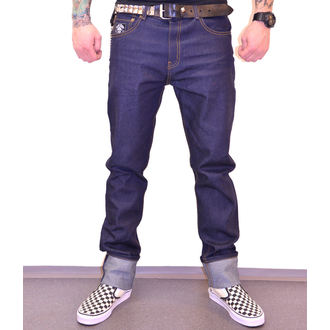 Trousers Men BLACK HEART - HOT ROD JEANS, BLACK HEART
