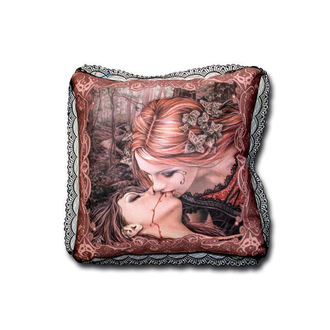 pillow Victoria Francés - 10284200 - KISSEN ECKIG KISS BROWN