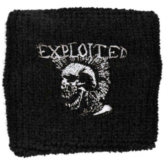 wristband Exploited - Mohican Skull, RAZAMATAZ, Exploited