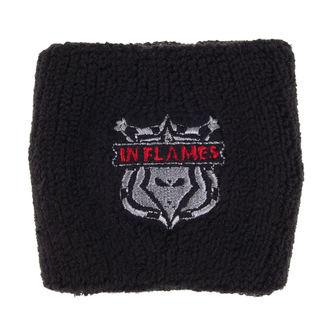 wristband In Flames - Shield Logo, RAZAMATAZ, In Flames