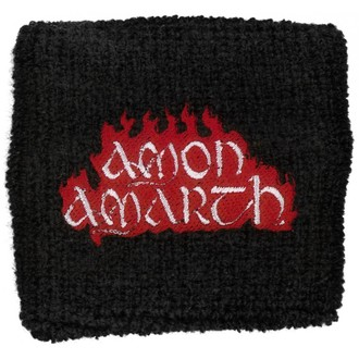 wristband Amon Amarth - Red Flame