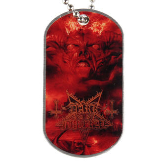 collar 'dog tag' Dark Funeral - Angelus Exuro for Eternus, RAZAMATAZ, Dark Funeral