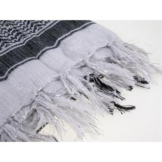 kerchief ARAFAT - palestine - SILVER - white