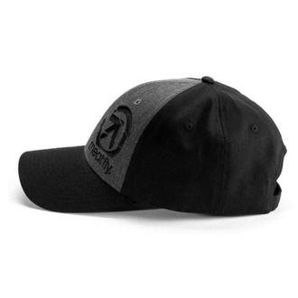 Cap MEATFLY - SIGMA CURVE PEAK A - BLACK / DARK HEATHER, MEATFLY