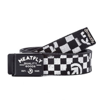 Belt MEATFLY - SIREN B - 1/27/55 - Black / White, MEATFLY
