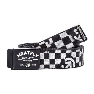 Belt MEATFLY - SIREN B - 1/27/55 - Black / White, MEATFLY